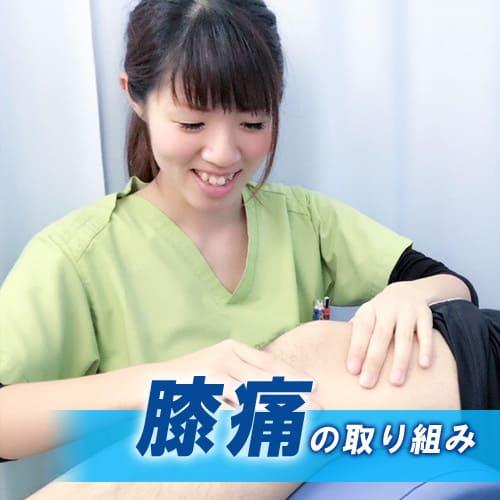 下妻整骨院しもつま鍼灸院の膝痛の取り組み